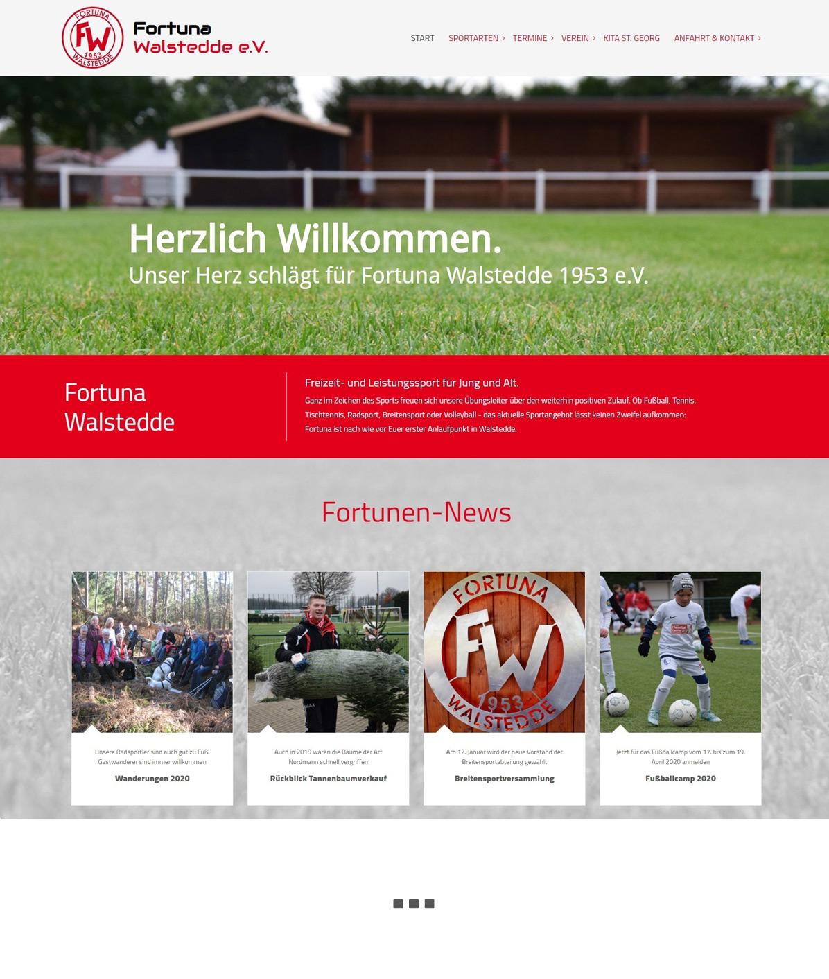 Webseiten für Sportvereine